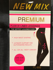 New Mix Premium Fleece Legging Charcoal