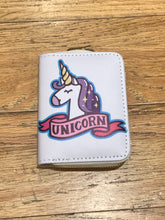 Load image into Gallery viewer, Unicorn Wallet (6 Different Styles!)