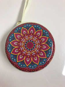 Mandala Printed Coin Purse