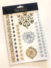 Load image into Gallery viewer, Metallic Temporary Tattoo