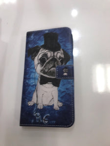 Classy Pug iPhone Wallet