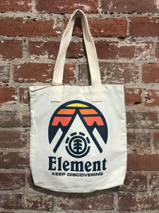 Element On My Mind Canvas Tote