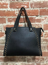 Load image into Gallery viewer, AR New York Spike Studded Handbag