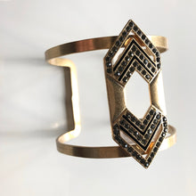 Load image into Gallery viewer, Aztec Cuff -Gold
