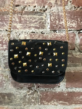 Load image into Gallery viewer, Small Leather Crossbody W/ Scattered Studs