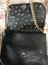 Load image into Gallery viewer, Free Culture Small Leather Crossbody W/ Scattered Studs