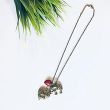 Load image into Gallery viewer, Superstar Good Luck Elephant Necklace