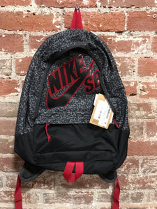 Nike SB Charcoal & Red Backpack