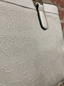 AR New York Solid Pattern Handbag