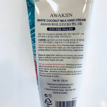 Load image into Gallery viewer, White Coconut Milk Hand Cream