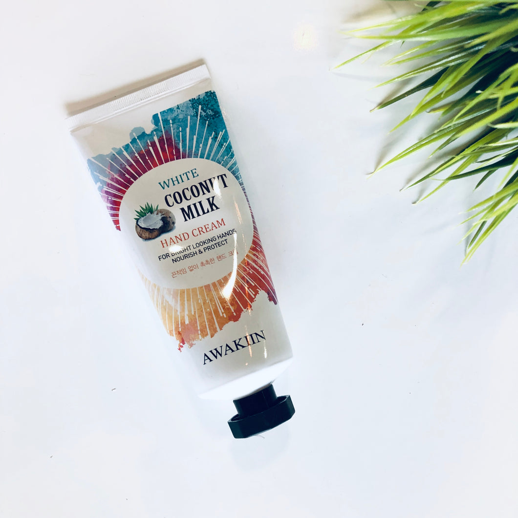 White Coconut Milk Hand Cream