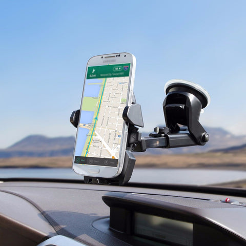 Universal Cell Phone Holder with Glass Suction Cup