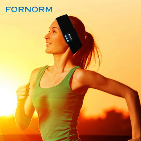 Wireless Bluetooth Fiber music Headband, headpiece for Sports