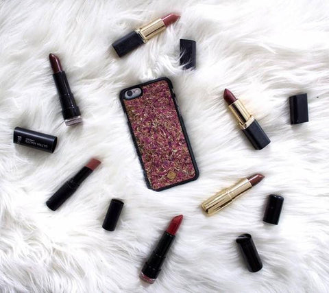 iPhone, Samsung - Organika Roses Phone case