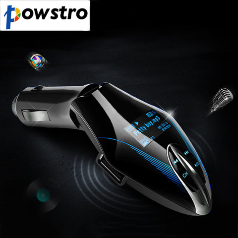 USB 2.0 Car High Speed Wireless Charger MP3 Player Mobile Phone LCD Screen