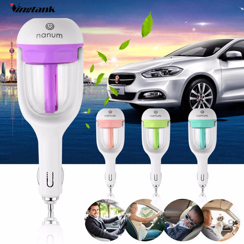 Car Humidifier Air Purifier 50ML Essential Oil Diffuser, Aromatherapy