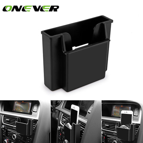 Car Air Vent Outlet Storage Bag for Pen Card Tickets Phone Holder+Car Organizer