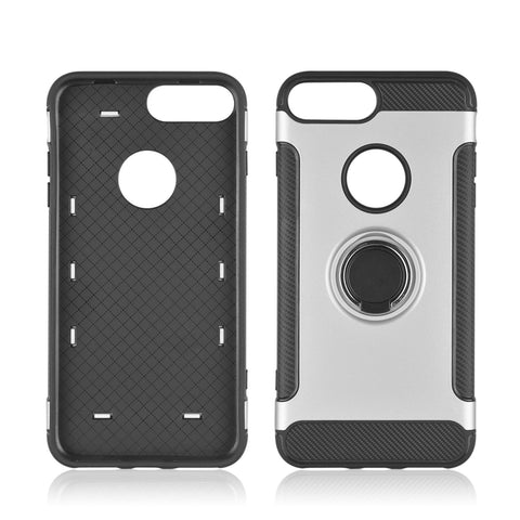 iPhone 7, 8, Hard PC 360 Rotate Ring Holder, Back is Shockproof