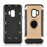 Samsung S9+ Phone Case 360 Rotate Ring Holder, Shockproof