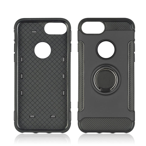 iPhone 7, 8, 360 Rotate Ring Holder, Back of Case Shockproof