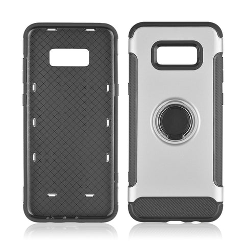Samsung Galaxy S8 - Hard Phone Cover 360 Rotate Ring Holder, Shockproof