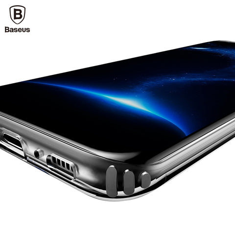 Samsung Galaxy S8 S9 - Ultra Thin Clear Soft TPU Silicone