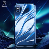 iPhone X, Water Model Case, Luxury Ultra Thin Silicone Cover
