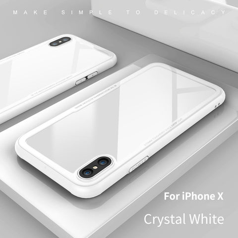 Transparent Tempered Glass for iPhone X