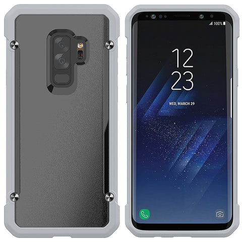 Samsung Galaxy S9 plus, No Discoloration Hard PC Back Cover TPU Border