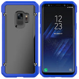 Samsung Galaxy S9, Hard PC Backboard Soft TPU Border Protective Shell