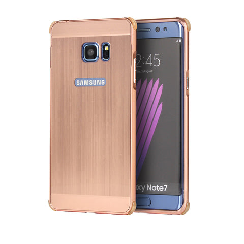 Samsung Note7 - Metal Frame Case with Shockproof Bumpers Scratch-resistant
