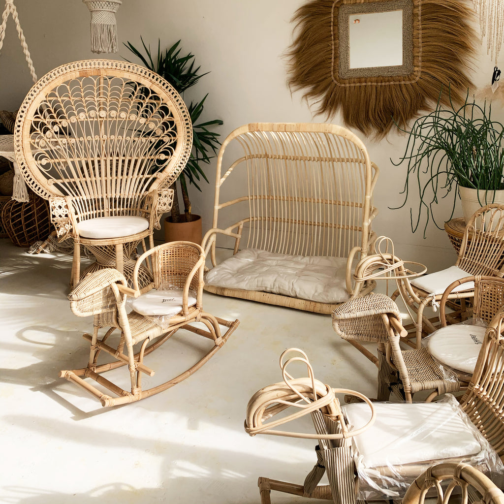 Paradise Double Seater Hanging Chair - Natural