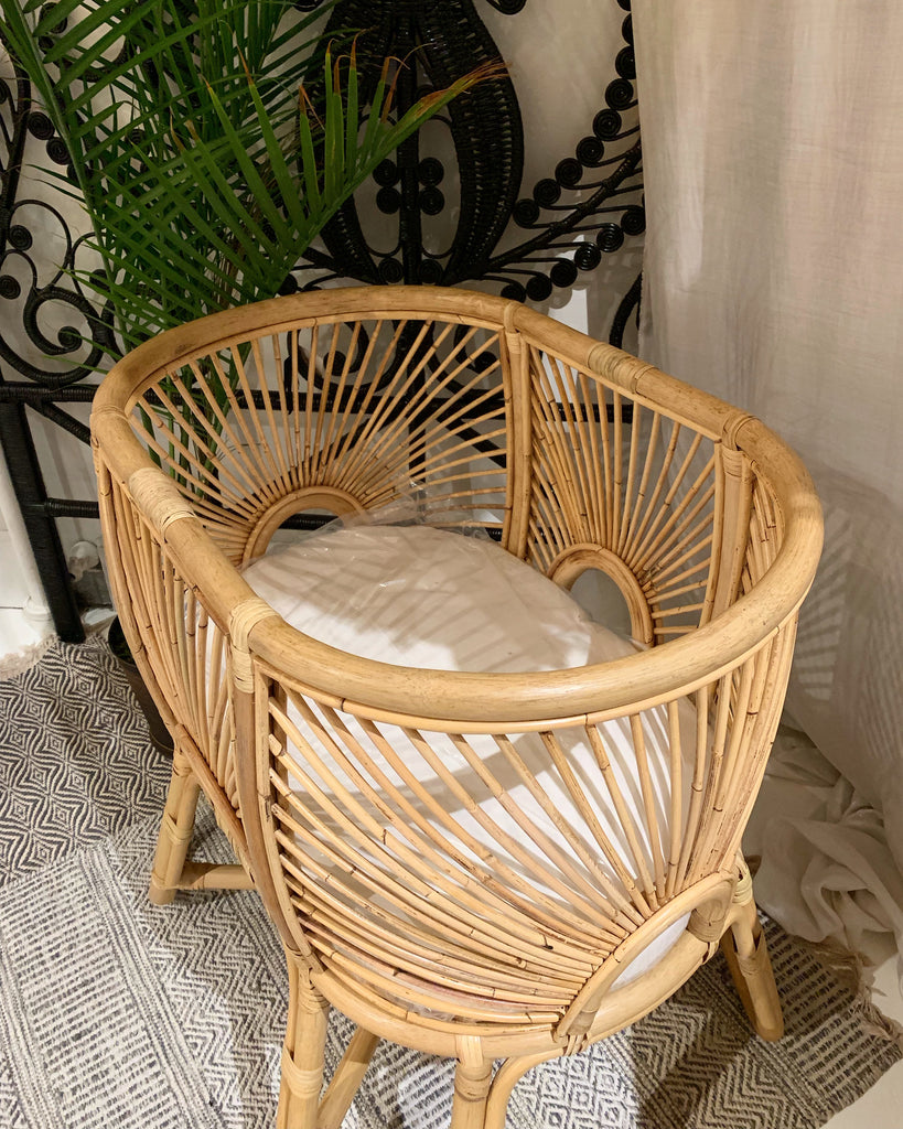 Sunbeam Rattan Bassinet - Back in Stock!
