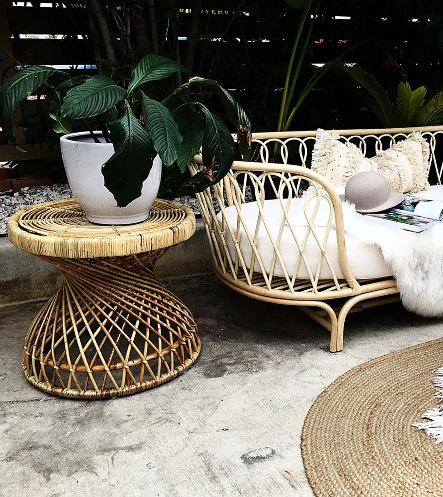 Flamingo Rattan Bistro Table