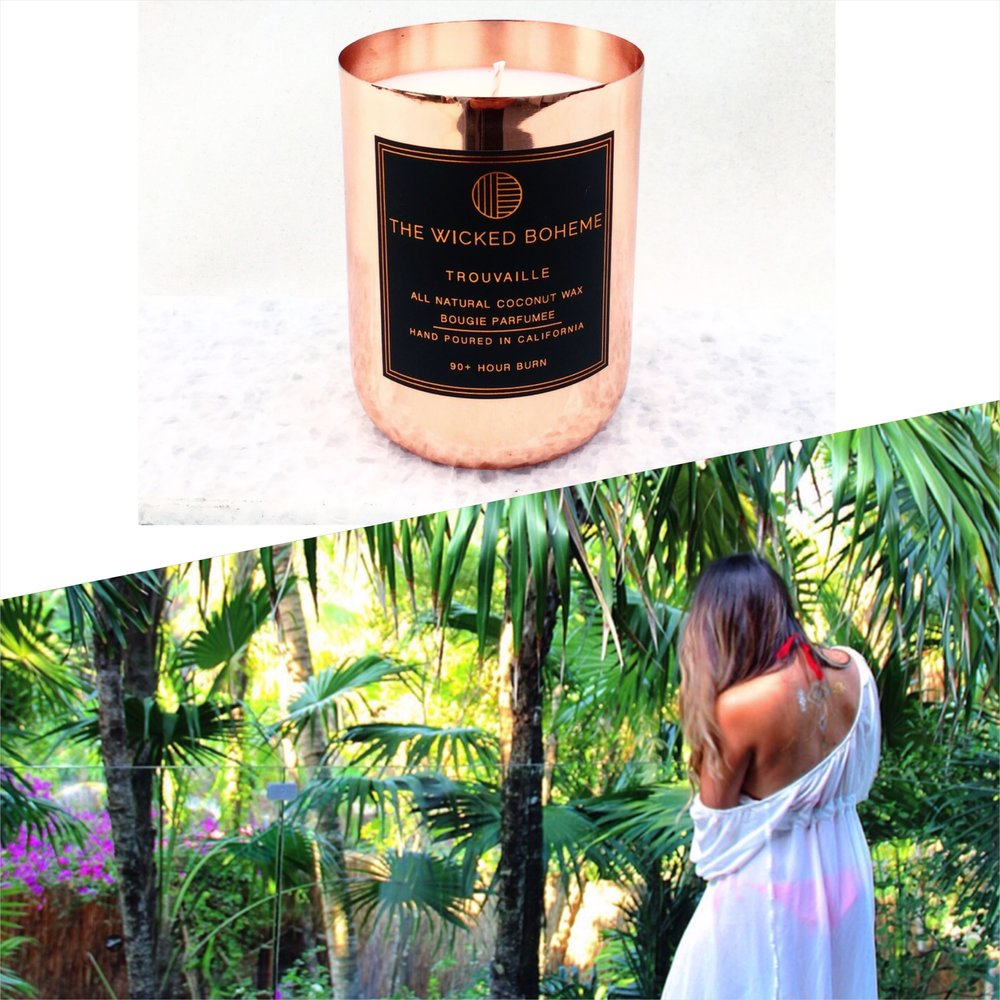 12oz Copper Coconut Wax Candle - Wanderlust / Gypsy
