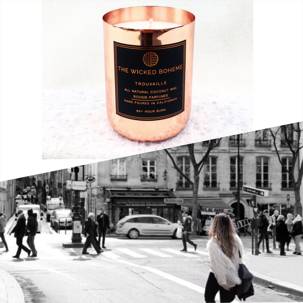 12oz Copper Coconut Wax Candle - London Calling