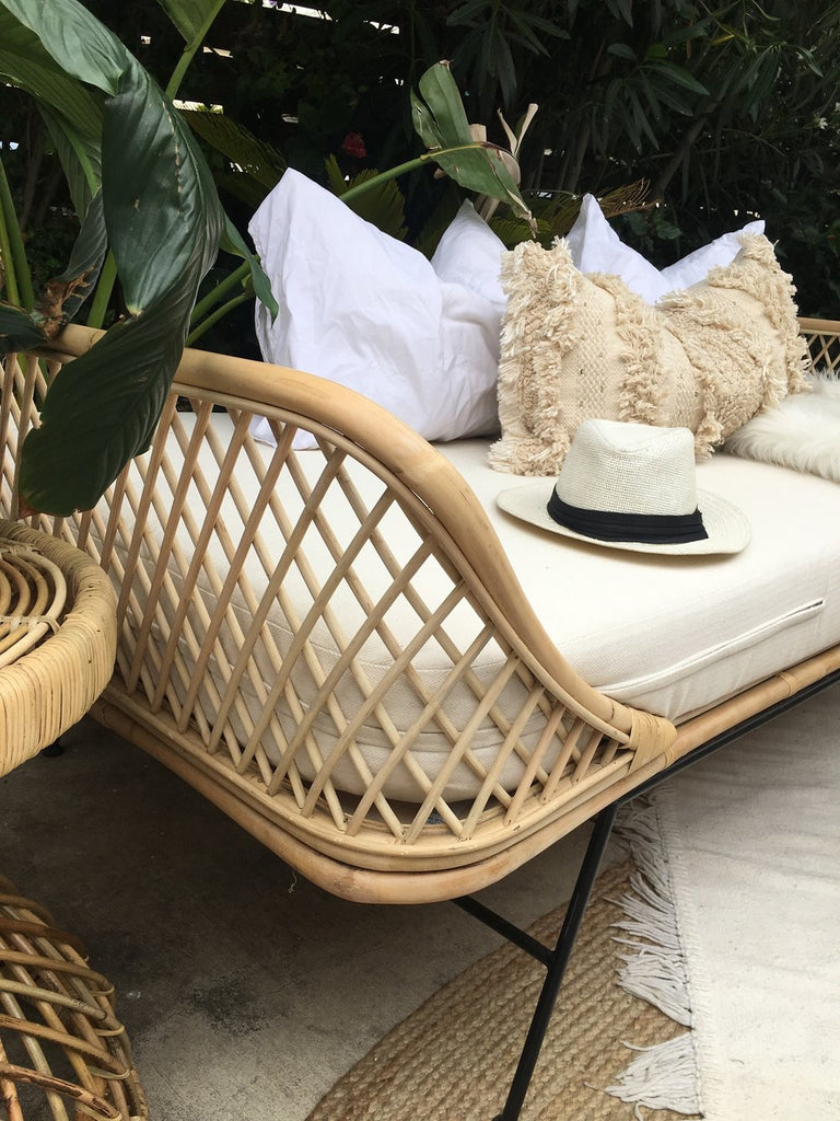 Preorder - Sunset Day Bed- ALL RATTAN - (Late April /Early May 2019 Arrival)
