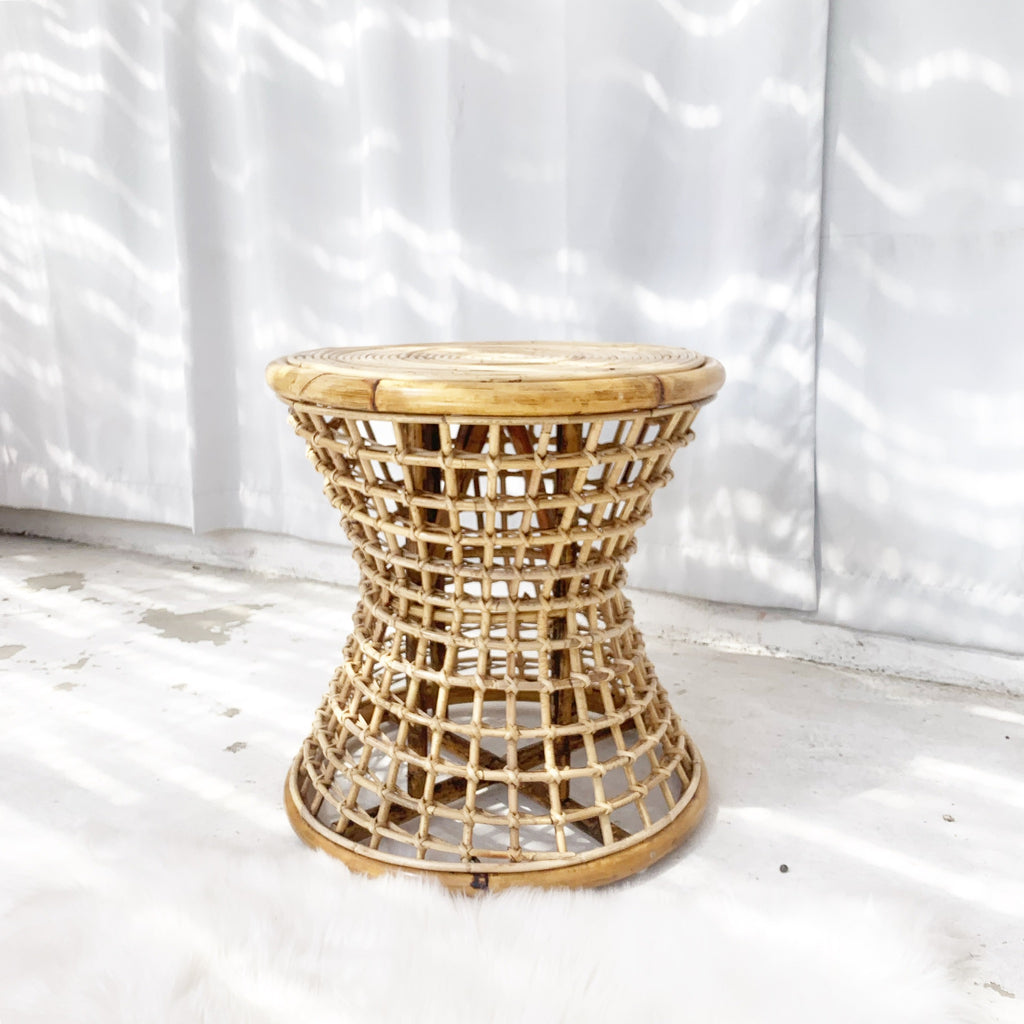 Venice Rattan Table - Natural