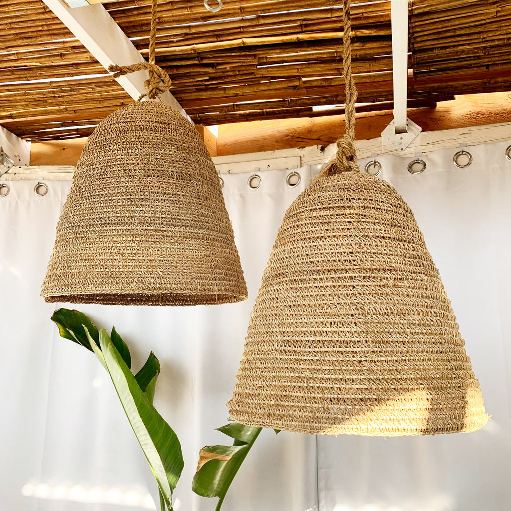 Seagrass Pendant Light - Natural