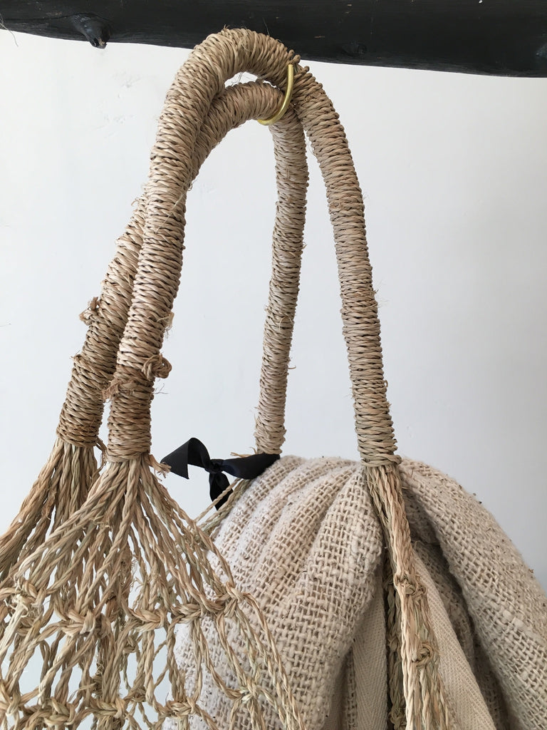 Cable Net Woven Bag