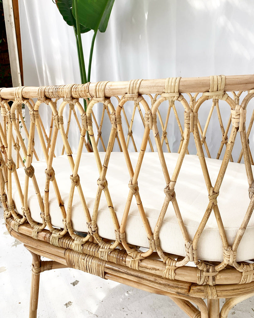 Classic Rattan Bassinet w/ Cushion