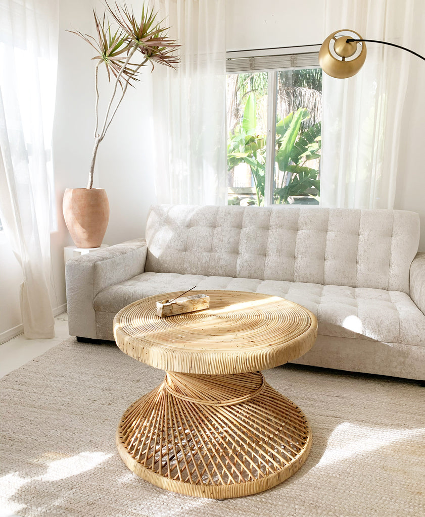 New Flamingo Rattan Coffee Table