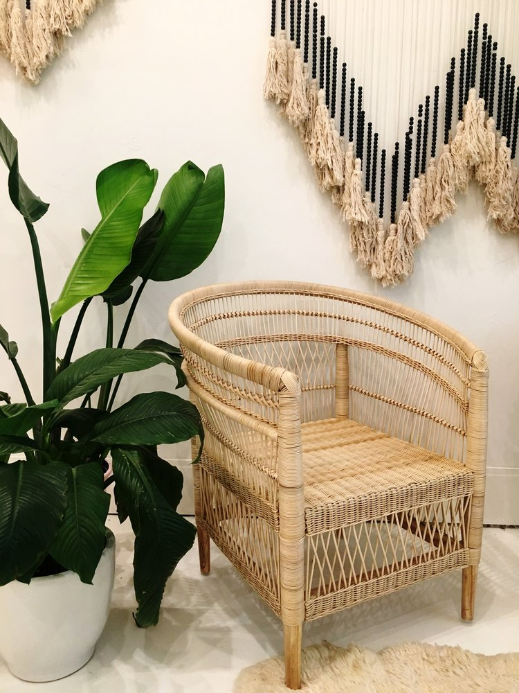 Nami Rattan Chair- Natural
