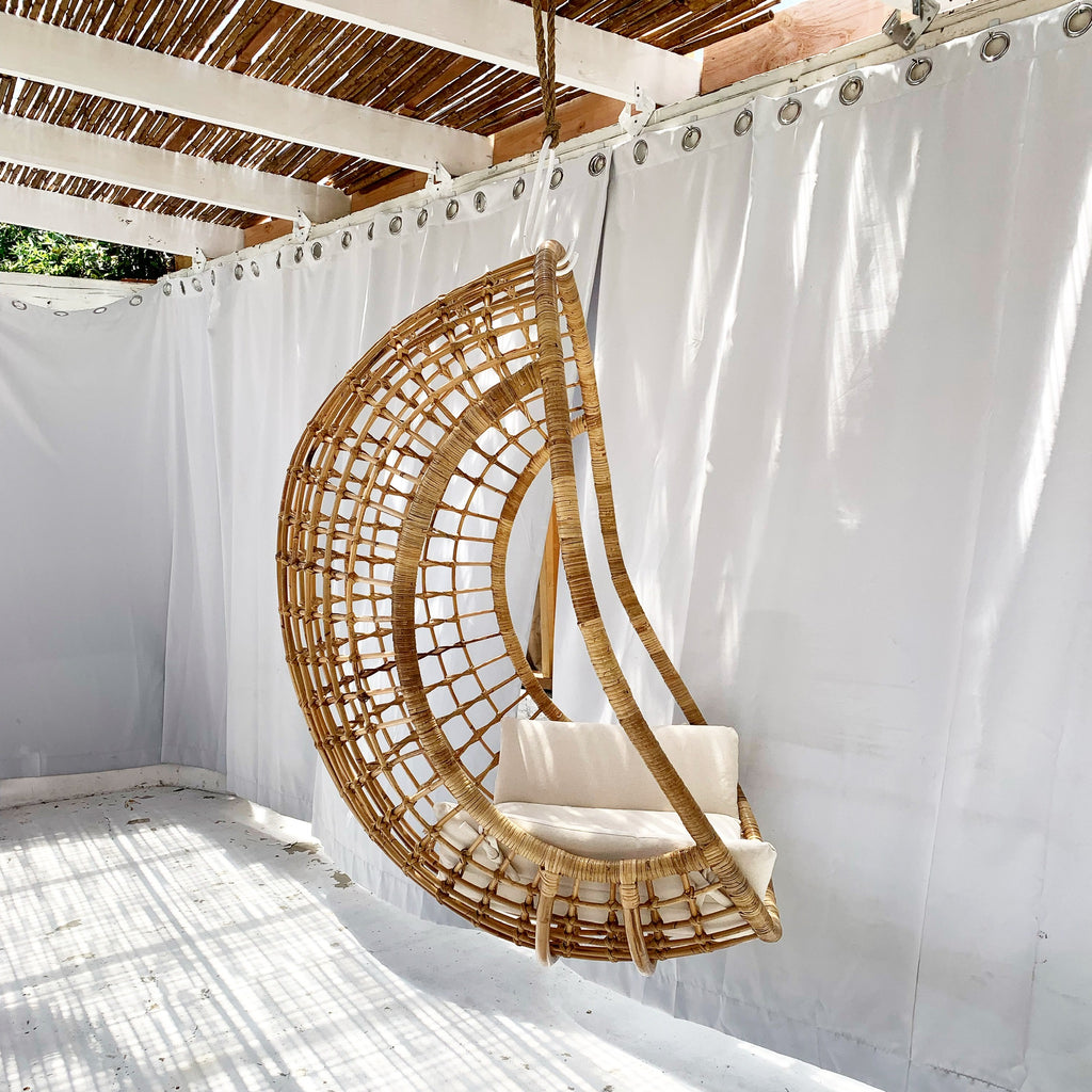 Luna XLG Rattan Hanging Chair