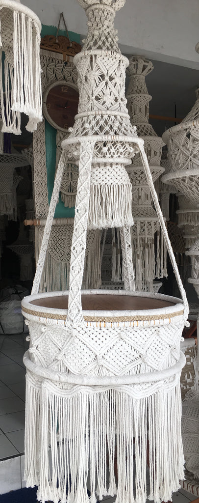 Preorder - SPELL Macrame Table - Large - (Late April /Early May 2019 Arrival)