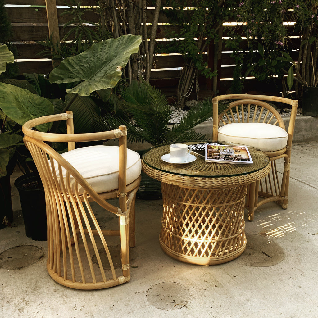 Tulip Rattan Chair
