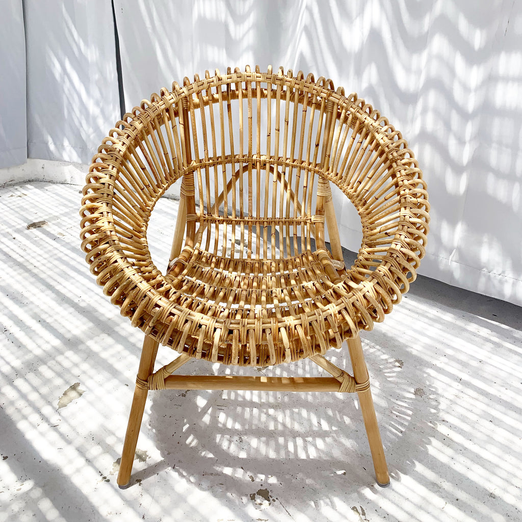Back in Stock- Sun Rattan Chair