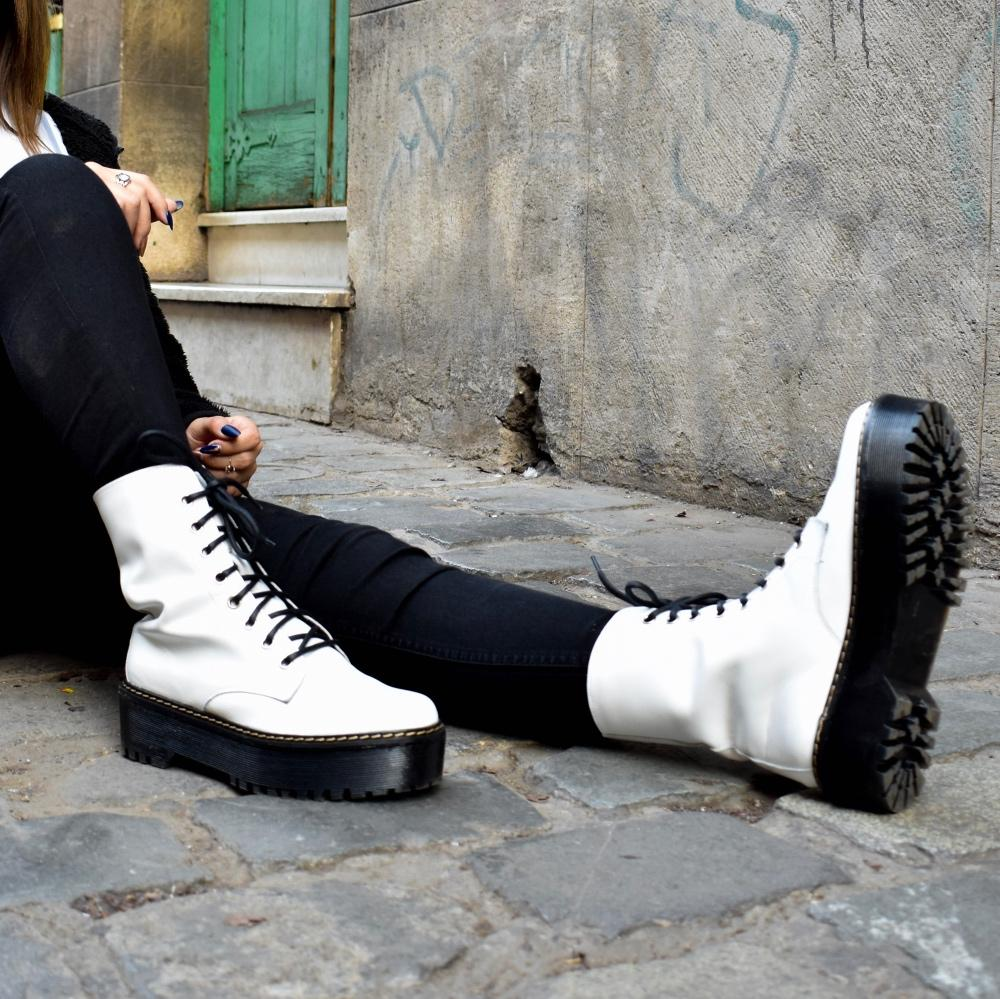 EMPOWERED BOOT WHITE - Urbanlife.cl - ZAPATOS