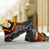 IRIS BLACK ORANGE - Urbanlife.cl - SNEAKER