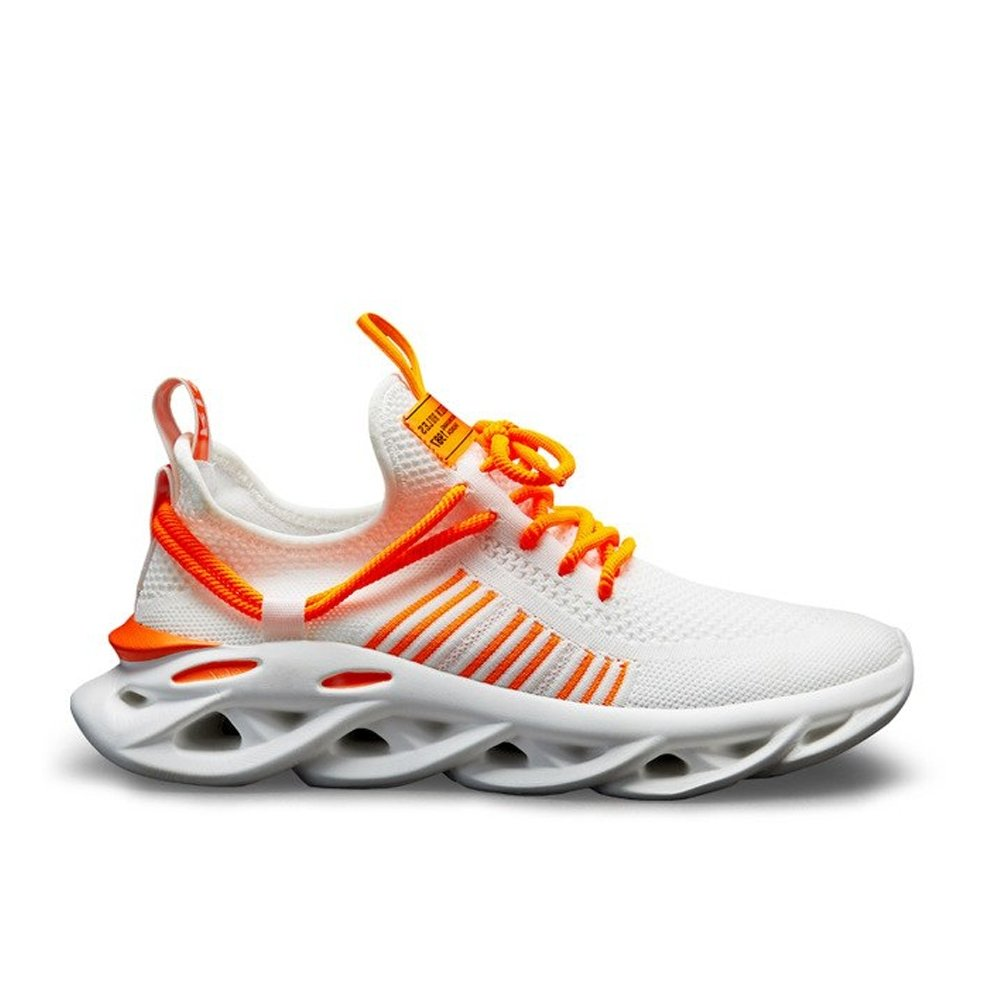 IRIS WHITE ORANGE - Urbanlife.cl - SNEAKER